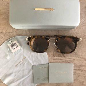 96eb108c606 Karen Walker Accessories - Karen Walker Bounty Sunglasses in Tortoise